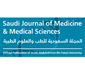 Saudi Journal of Medicine and Medical Science